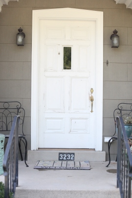 Front Door White