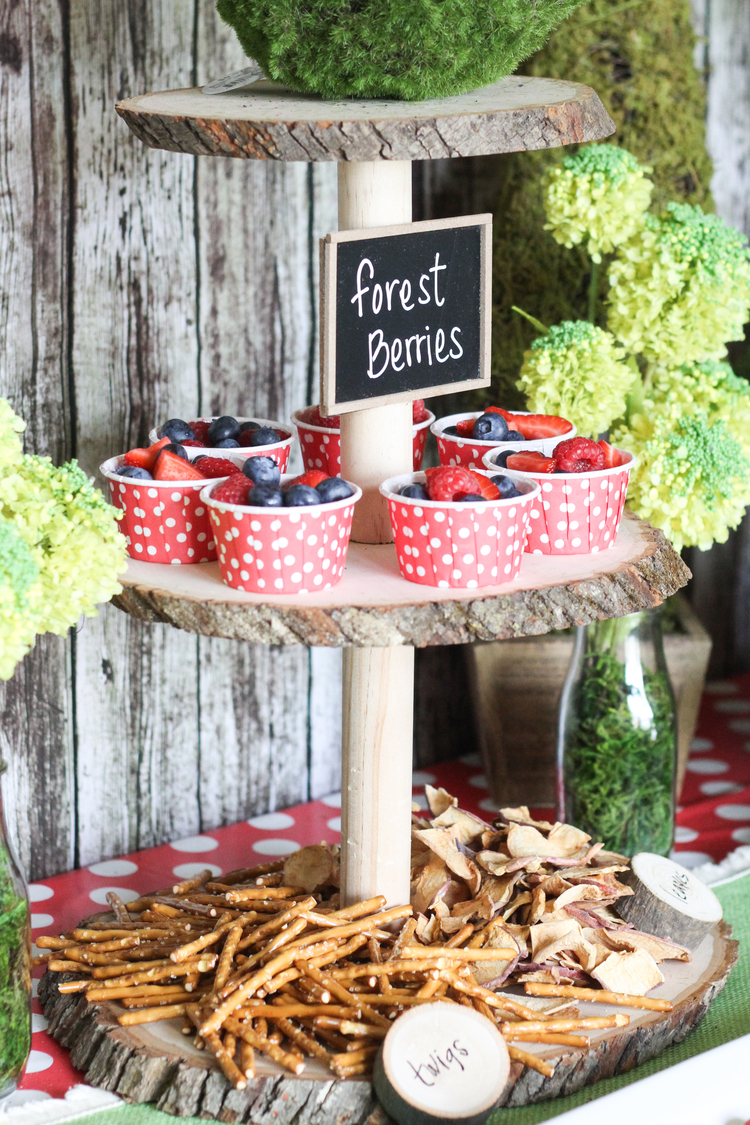 Woodland Themed Birthday Party | mytpthome