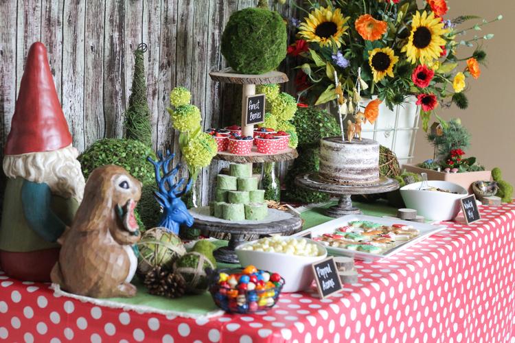 Woodland Themed Birthday Party Mytpthome