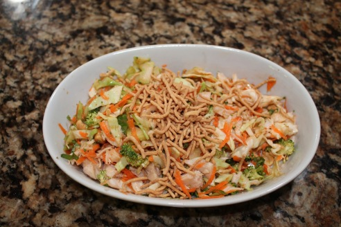 Thai Slaw with Crispy Noodles